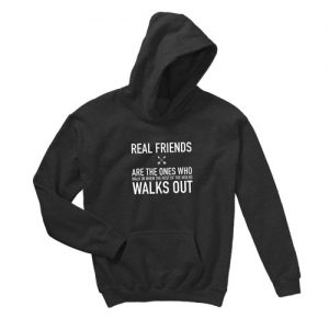 real friends Hooded