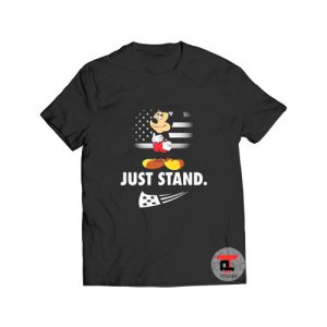 Mickey Disney American Flag Just Stand Viral Fashion T-Shirt