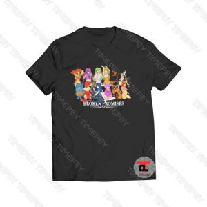 Broken Promises Whole Gang Anime Viral Fashion T Shirt