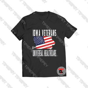 Iowa Veterans for Universal Healthcare Viral Fashion T Shirt